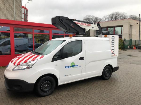 Eerste elektrische hoogwerker K20 geleverd aan gemeente Erpe-Mere
