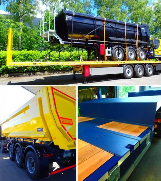 Van Bouwel Verkoop & service : NIEUW !  ' trailers en diepladers'