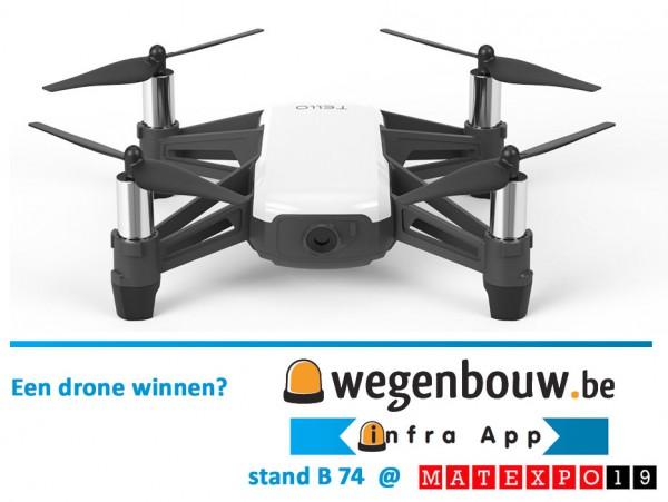 Win een drone met uw Matexpo bezoek