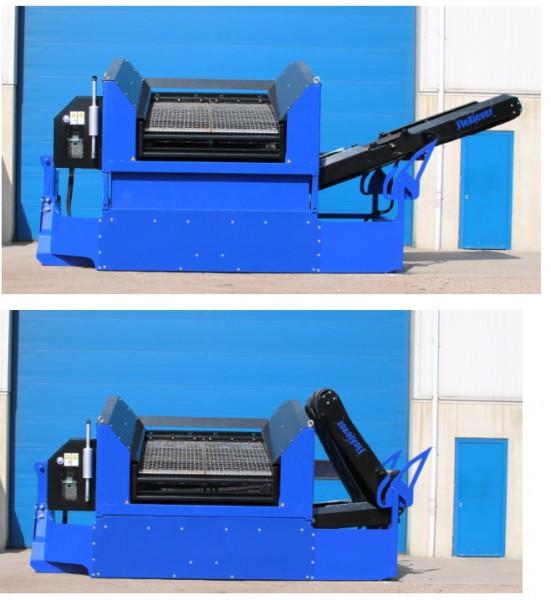 Première FleXiever SKID – 2 fracties zeefmachine.