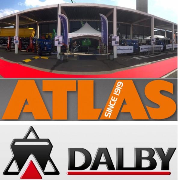 Van Bouwel Verkoop & Service importateur grues Atlas & porte conteneurs Dalby, stand B40