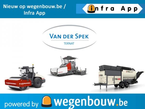 Van Der Spek sluit aan bij het grootste INFRA netwerk