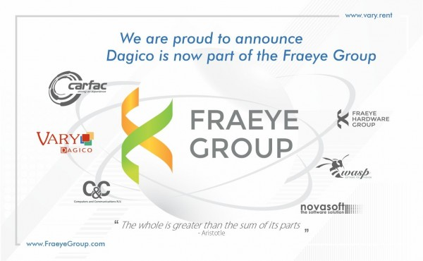 Dagico is now part of the Fraeye Group