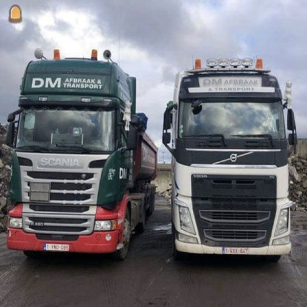 DM Afbraakwerken & Transport sluit aan op wegenbouw.be Infra App
