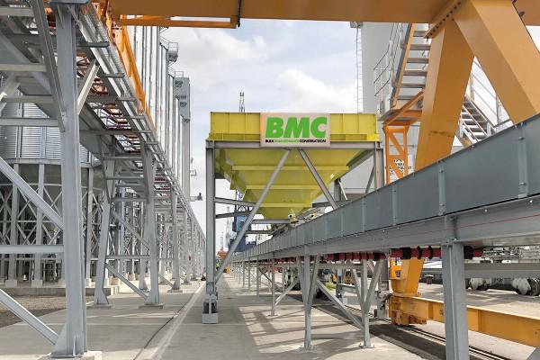 BMC ontwikkelt innovatieve losinstallatie voor schepen