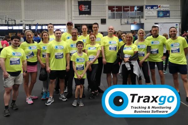 Een geslaagde Traxgo deelname aan Kortrijk Loopt 2019