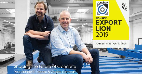 Construx genomineerd voor Leeuw van de Export 2019