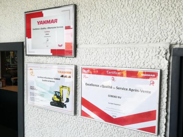 CEBEKO voor het derde jaar op rij Yanmar Premium Dealer!