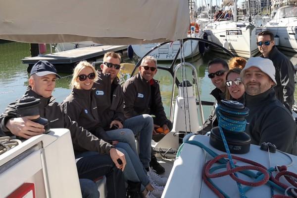 Klinkende overwinning op de Captains of Industry Sailing Cup