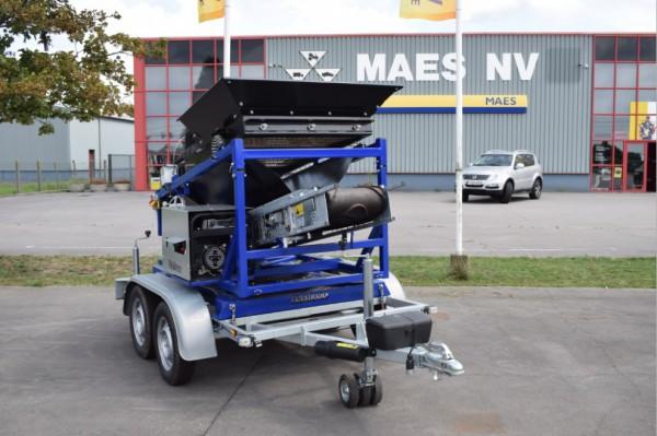 FleXiever zeefmachines bij Maes NV te Kasterlee.