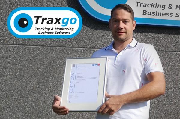 Traxgo: eerste track & trace bedrijf in België met ISO 27001